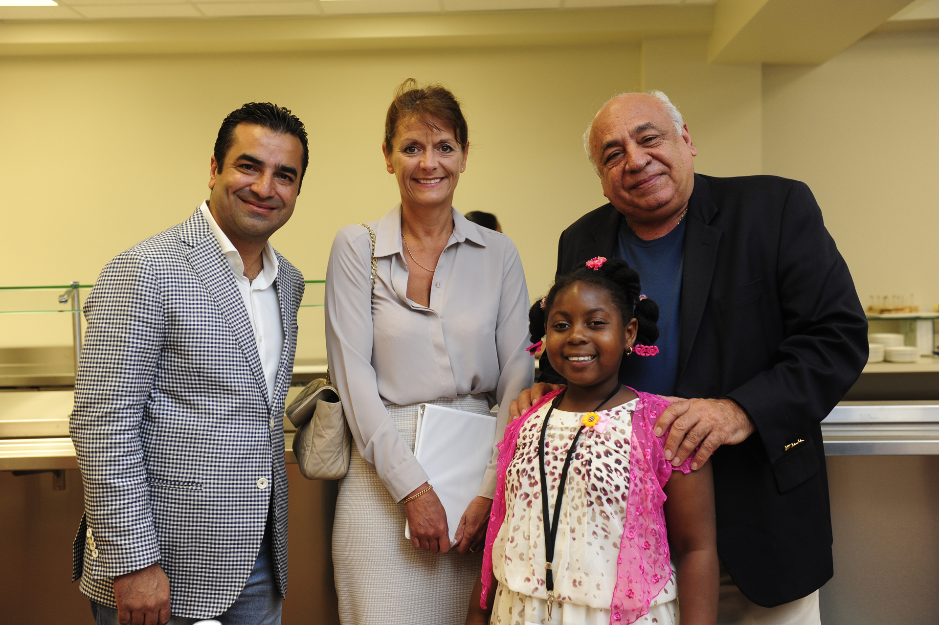 Harry Chandy, Her Excellency the Governor Kilpatrick, Robert Hamaty and Leonisha