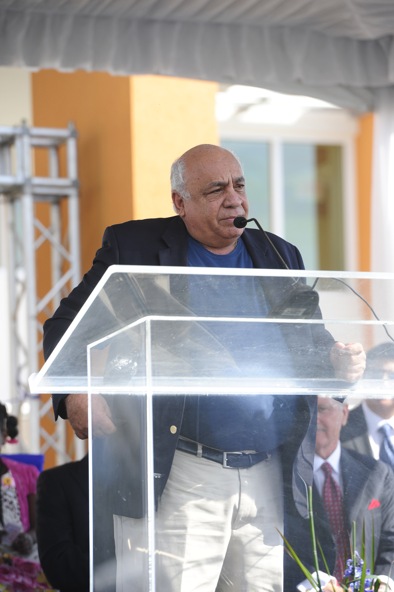 Robert Hamaty at Health City Cayman Islands Grand Opening