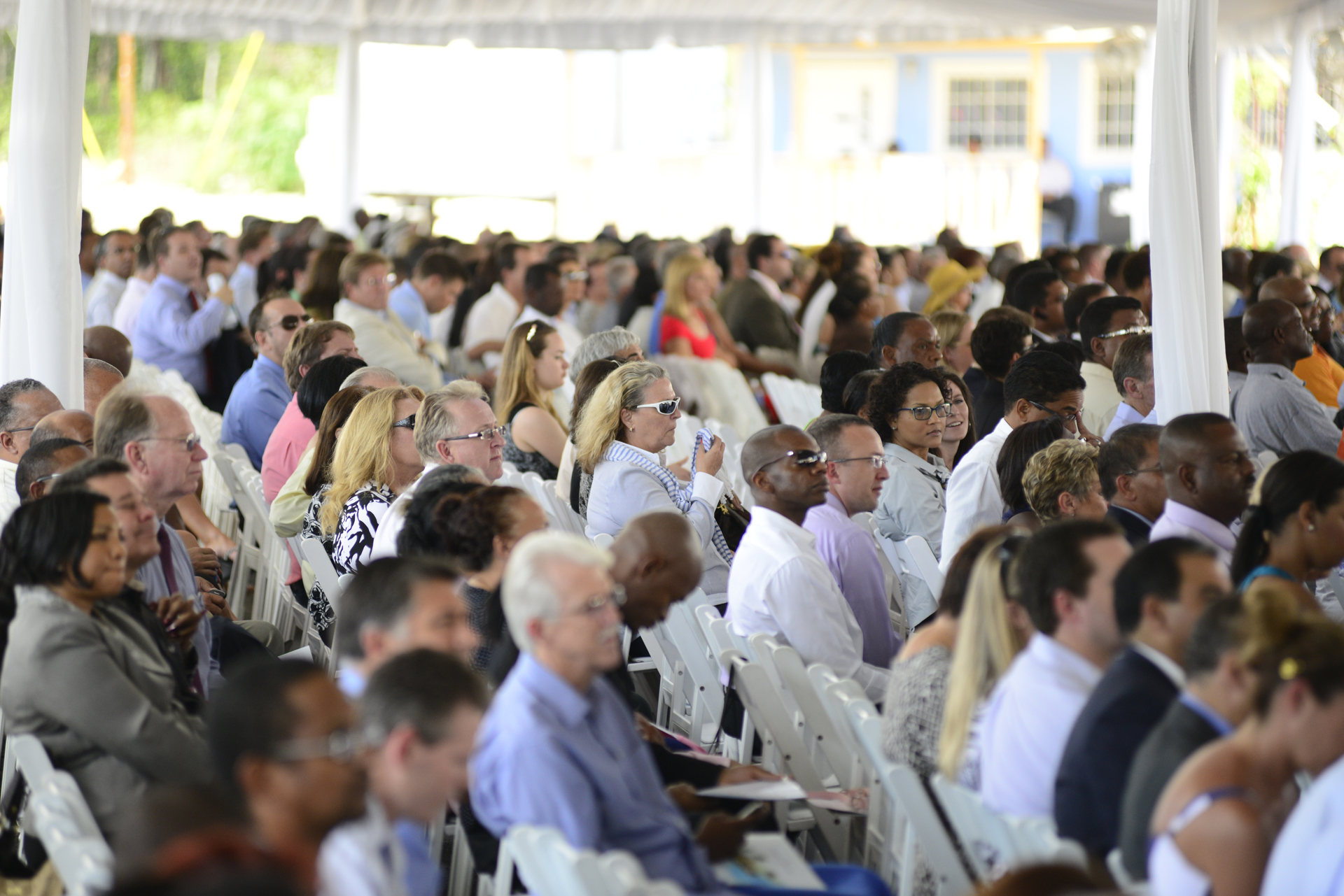 Supporters at Health City Cayman Islands Grand Opening
