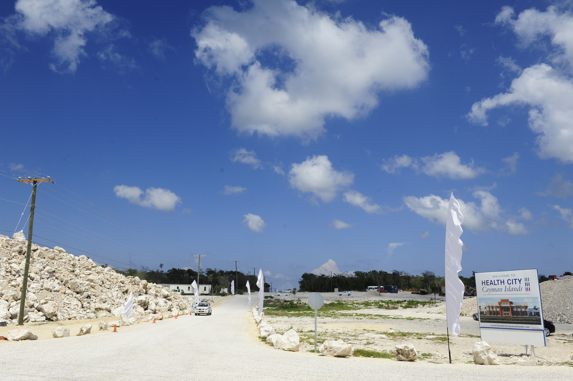 The beginning of Health City Cayman Islands