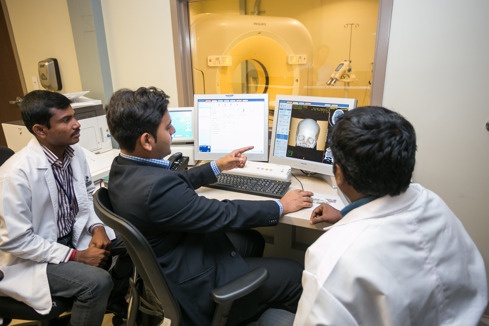 Imaging review at health city